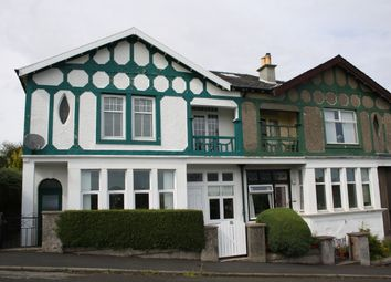 Thumbnail 3 bed flat for sale in 24 Auchnacloich Road, Rothesay, Isle Of Bute