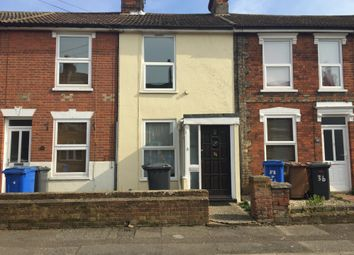 Thumbnail 2 bed terraced house to rent in Alston Road, Ipswich