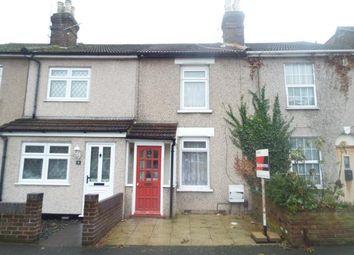 Thumbnail 2 bedroom terraced house for sale in Wolseley Road, Rush Green, Romford