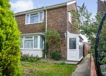 Rectory Walk, Lancing BN15. 3 bed end terrace house