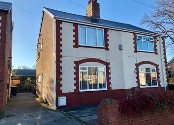 Thumbnail 3 bed semi-detached house for sale in Nedderton Village, Bedlington, Northumberland