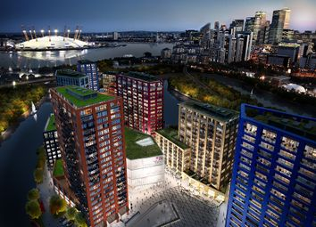 Thumbnail 3 bed flat for sale in London City Island, 45 Hope Street, London