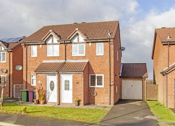 Thumbnail 2 bed semi-detached house for sale in Torrani Way, North Wingfield, Chesterfield