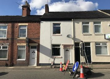 Thumbnail 2 bedroom terraced house for sale in London Road, N/A, Stoke On Trent, Staffs