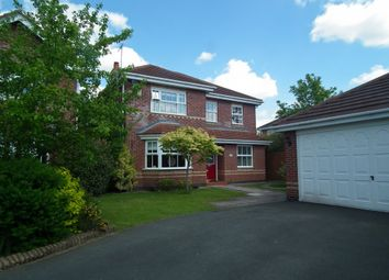 Thumbnail 4 bed detached house to rent in Potter Close, Willaston, Nantwich