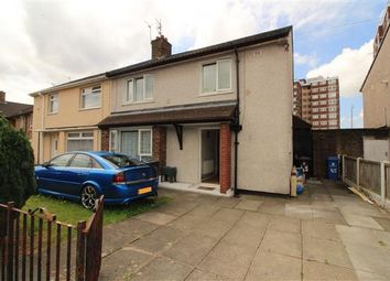 Thumbnail 4 bed semi-detached house for sale in Medbourne Crescent, Kirkby, Liverpool