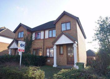 Thumbnail 3 bed semi-detached house to rent in Eelbrook Avenue, Bradwell Common, Milton Keynes