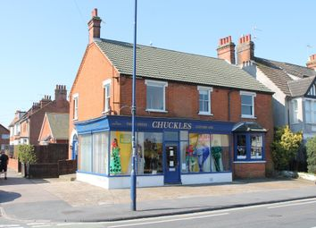Thumbnail Studio to rent in High Road West, Felixstowe
