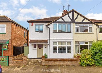 Thumbnail 3 bed semi-detached house for sale in Beresford Road, St Albans, Hertfordshire