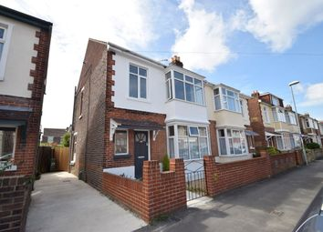 Thumbnail 3 bed semi-detached house for sale in Kensington Road, Portsmouth