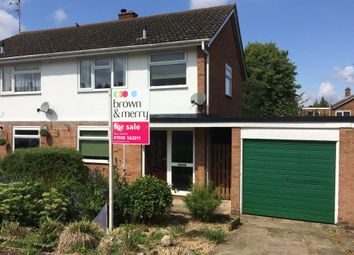 Thumbnail 3 bed semi-detached house for sale in The Limes, Stony Stratford, Milton Keynes