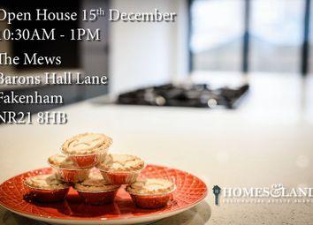 Thumbnail 4 bedroom terraced house for sale in Barons Hall Lane, Fakenham