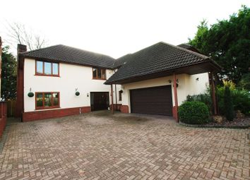 Thumbnail 5 bed detached house for sale in Wellfield Road, Marshfield, Cardiff