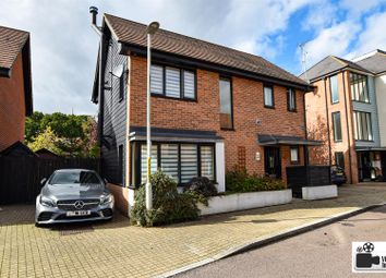 Thumbnail 3 bed detached house for sale in Teddington Drive, Leybourne, West Malling