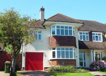 Thumbnail 4 bed semi-detached house to rent in Harbury Road, Carshalton