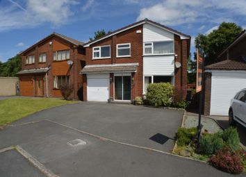 Thumbnail 4 bed detached house for sale in Harold Avenue, Dukinfield