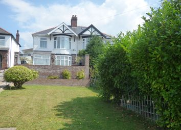 Thumbnail 3 bed semi-detached house for sale in Cromwell Avenue, Rhyddings, Neath.