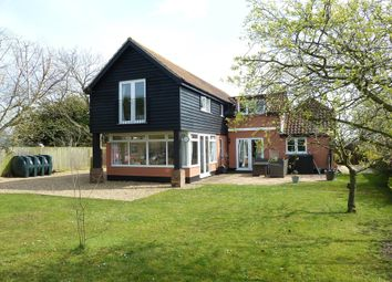 Thumbnail 4 bed detached house to rent in Eye Road, Brome, Suffolk
