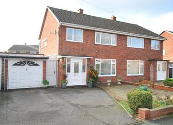 Thumbnail 3 bed semi-detached house for sale in Clunbury Road, Wellington, Telford, Shropshire