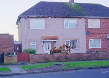 Thumbnail 3 bed semi-detached house for sale in Link Avenue, Bedlington