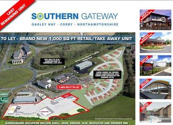 Thumbnail Commercial property to let in Southern Gateway, Oakley Hay, Corby, Northants