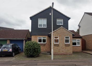 Thumbnail 3 bed detached house for sale in Cawkwell Close, Chelmsford