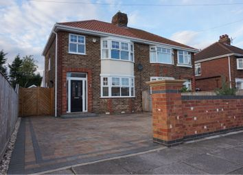Thumbnail 3 bed semi-detached house for sale in Boundary Road, Scartho