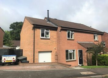 Thumbnail 4 bed semi-detached house for sale in 57 Hazelwood Close, Honiton