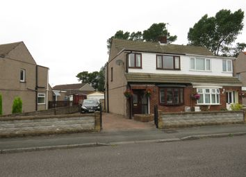 Thumbnail 3 bed semi-detached house for sale in Glan Morfa, Gowerton, Swansea