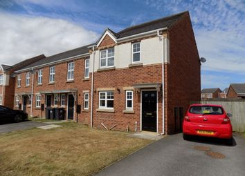 Thumbnail 3 bed semi-detached house to rent in Carlton Moor Crescent, Darlington