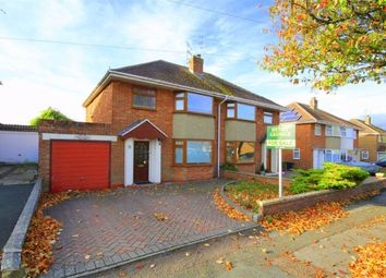 Thumbnail 3 bed semi-detached house for sale in Wheeler Avenue, Swindon, Wiltshire