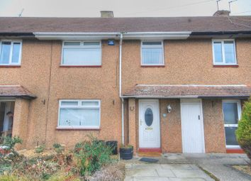 Thumbnail 3 bed terraced house for sale in Drummonds Close, Longhorsley, Morpeth