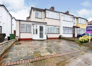 Thumbnail 3 bed end terrace house for sale in Percy Road, Mawneys, Romford