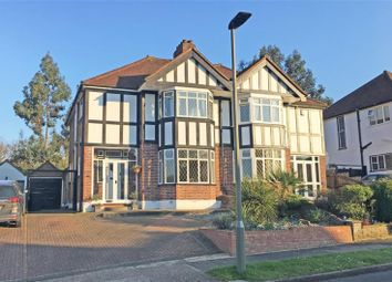Thumbnail 3 bed semi-detached house for sale in Lakeside Drive, Bromley, Kent