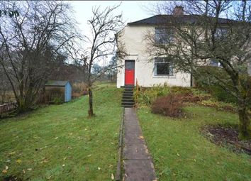 Thumbnail 2 bed semi-detached house to rent in Manse Road, Aberfoyle, Stirling