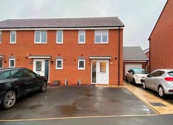Thumbnail 2 bed end terrace house for sale in West Croft, Burntwood