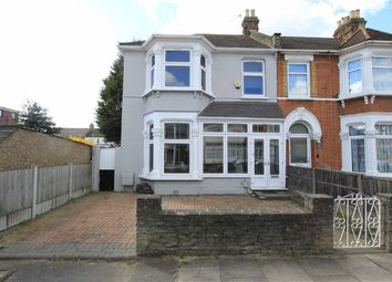 Thumbnail 3 bed end terrace house for sale in Hazeldene Road, Goodmayes, Essex