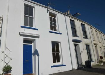 Thumbnail 2 bed terraced house to rent in Mount Edgcumbe Terrace, Falmouth
