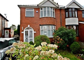Thumbnail 3 bed semi-detached house for sale in Holyrood Grove, Prestwich, Manchester