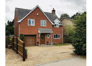 Thumbnail 4 bed detached house for sale in Camel Green Road, Fordingbridge