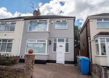 Thumbnail 3 bedroom semi-detached house for sale in Lisleholme Road, Liverpool
