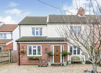 Thumbnail 4 bed semi-detached house for sale in Stowmarket Road, Great Blakenham, Ipswich