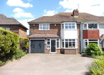 Thumbnail 3 bed semi-detached house for sale in Lichfield Road, Coleshill, Birmingham