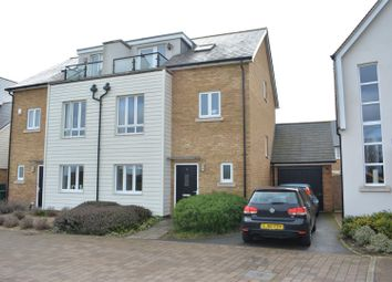 Thumbnail 4 bed semi-detached house for sale in Holly Close, Epsom