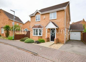 Thumbnail 4 bed detached house for sale in Normanton Road, Crowland, Peterborough