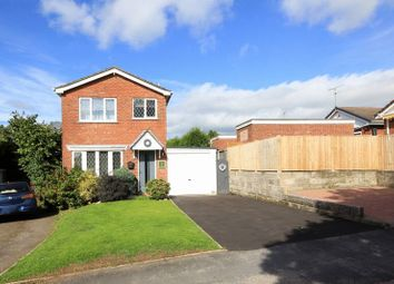 Thumbnail 3 bed detached house for sale in Mansfield Close, Clayton, Newcastle