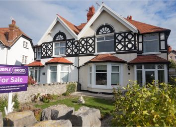 Thumbnail 4 bed semi-detached house for sale in St. Andrews Place, Llandudno