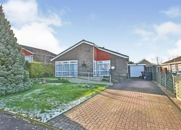 Thumbnail 3 bed detached bungalow for sale in Walnut Walk, Marham, King's Lynn