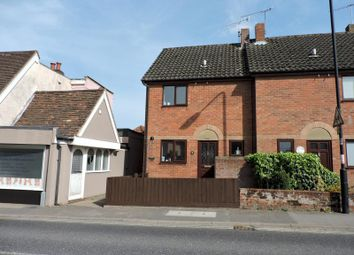 Thumbnail 2 bedroom semi-detached house to rent in The Street, Melton, Woodbridge