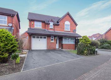 Thumbnail 4 bed detached house for sale in Ridgeway Close, Great Sutton, Ellesmere Port